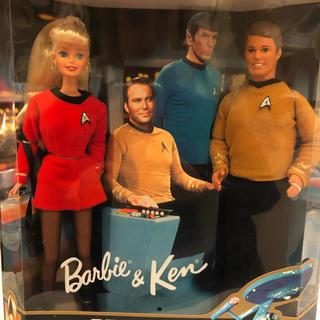 バービー(Barbie)のスタートレック バービーとケン(SF/ファンタジー/ホラー)