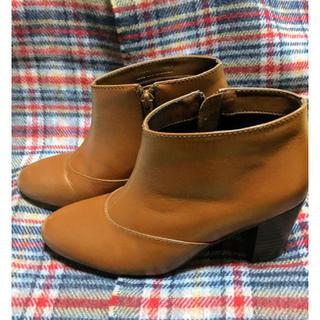 フレームワーク(FRAMeWORK)のベイクルーズにて購入 ショートブーツ キャメル(ブーツ)