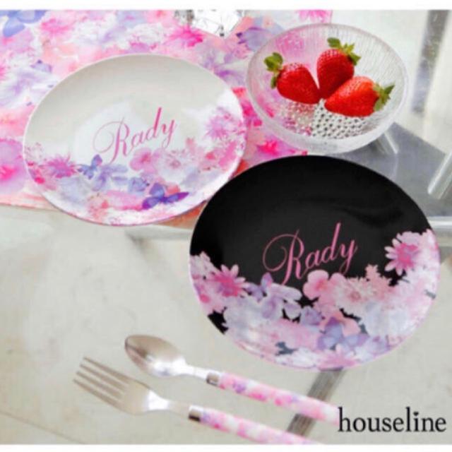 Rady(レディー)のRady マイメロ ハッピーピンク メラミン プレート セット 皿 インテリア/住まい/日用品のキッチン/食器(食器)の商品写真