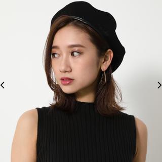 リエンダ(rienda)のリバーシブルベレー帽(ハンチング/ベレー帽)