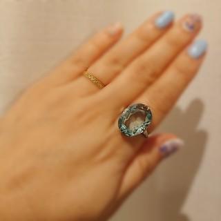 アンティーク ブルースピネル シルバーリング(リング(指輪))