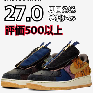 ナイキ(NIKE)の27 NIKE AIR FORCE 1 TRAVIS SCOTT (スニーカー)