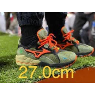 ミズノ(MIZUNO)のMizuno waverider 24karts x mita sneakers(スニーカー)