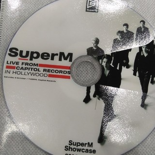 シャイニー(SHINee)のSUPERM  デビューショーケースライブ DVD(K-POP/アジア)