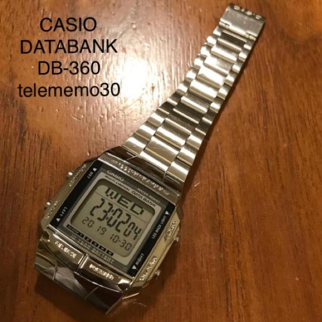 CASIO データバンク DB-360 テレメモ30の通販