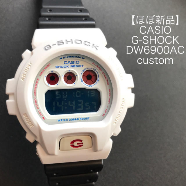 【ほぼ新品】G-SHOCK DW6900AC カスタム レアの通販