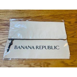 バナナリパブリック(Banana Republic)のBanana Republic*オリジナルキャンバスクラッチバック(クラッチバッグ)
