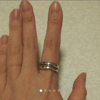 中古品  リング 指輪  シルバー925    16号 ♡︎(リング(指輪))