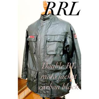 ダブルアールエル(RRL)の【送料込】RRLモーターサイクルジャケット/british/moto cycle(ライダースジャケット)