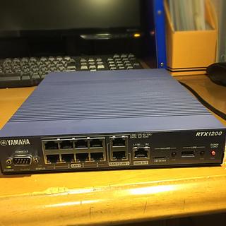 ヤマハ(ヤマハ)のYAMAHA RTX1200(PC周辺機器)