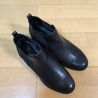 ブリジットバーキン(Bridget Birkin)のサイドゴアブーツ 黒 ブリジットバーキン(ブーツ)