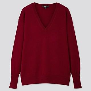 ユニクロ(UNIQLO)のユニクロ Vネックセーター(ニット/セーター)
