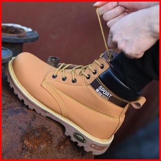 安全靴 イエローブーツ ワークブーツ メンズ ブーツ 送料無料(ブーツ)