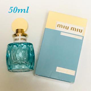 ミュウミュウ(miumiu)のミュウミュウ ローブルー 香水 50ml(香水(女性用))