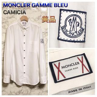 モンクレール(MONCLER)の【美品】【16AW】MONCLER GAMME BLEU 「CAMICIA」(シャツ)