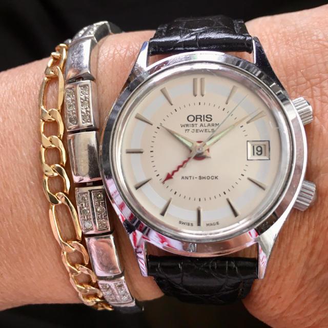 ORIS - 【ORIS】リストアラーム 手巻の通販