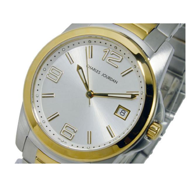 CHARLES JOURDAN - CHARLES JOURDAN クオーツ メンズ 腕時計 シルバーの通販