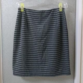 ニッセン(ニッセン)の🌼グレータイトスカートLL(ひざ丈スカート)