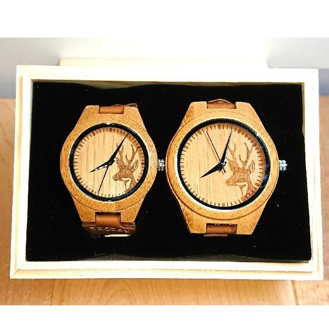 新品  記念日 プレゼント ペア ウォッチ 腕時計 ギフト BOBOBIRDの通販