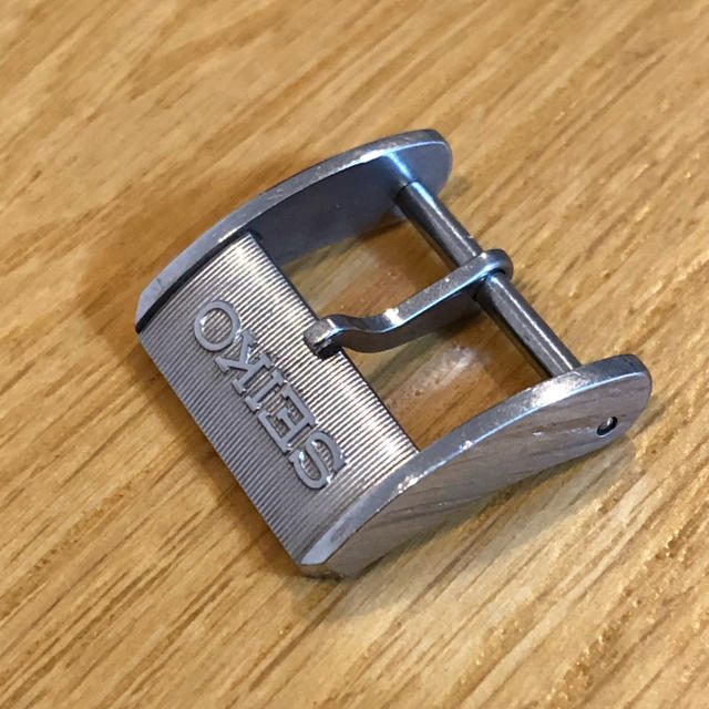 SEIKO - SEIKO 尾錠 美品 15mmの通販