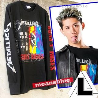 ONE OK ROCK - L◇長袖T  METALLICA×GunsN'Roses