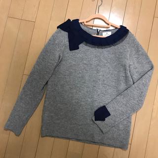 ランバンオンブルー(LANVIN en Bleu)のランバンオンブルー セーター♡ルシェルブルー ダイアグラム ジルスチュアート(ニット/セーター)