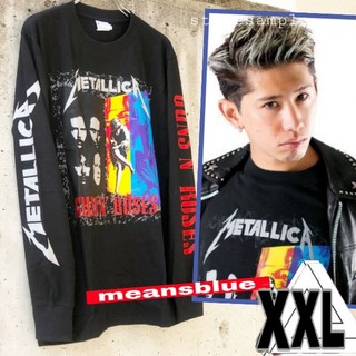 ONE OK ROCK - XXL◇長袖T  METALLICA×GunsN'Roses