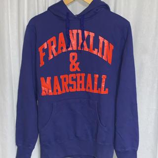 FRANKLIN&MARSHALL - フラクリンマーシャル プリントプルオーバーパーカー