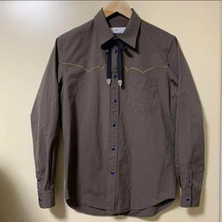トーガ(TOGA)のTOGA ウエスタンシャツ リボン付き(シャツ)