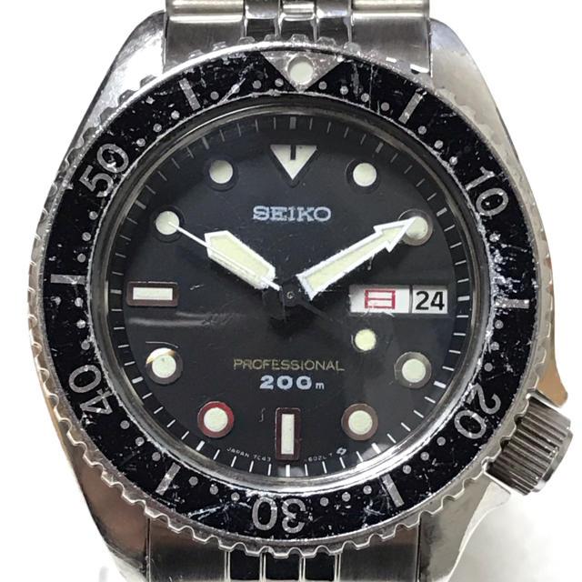SEIKO - セイコー ビンテージダイバー プロフェッショナル200m 防水ビンテージクォーツの通販