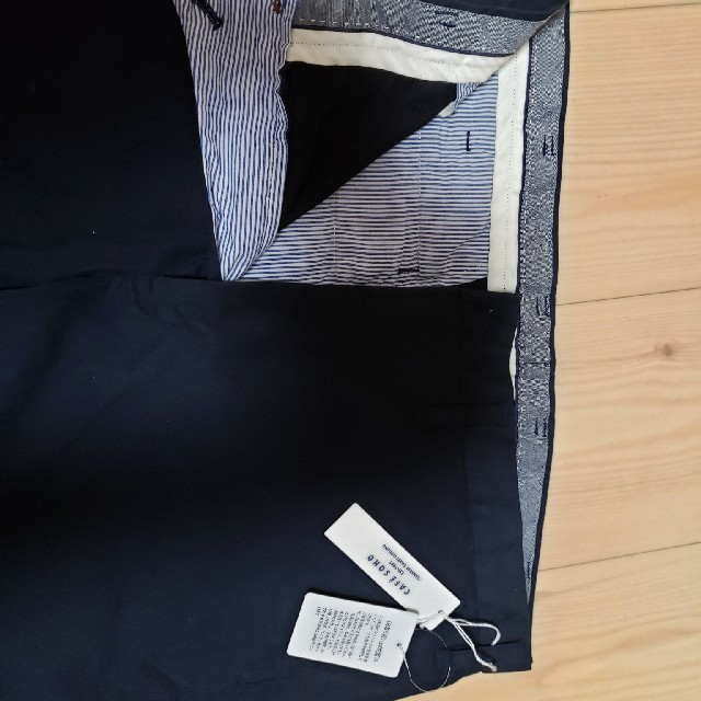 AOKI(アオキ)のAOKI CAFE SOHO ストレッチ綿パンツ メンズのパンツ(チノパン)の商品写真