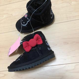 フタフタ(futafuta)の新品 ムートンブーツ キティ13cm(ブーツ)