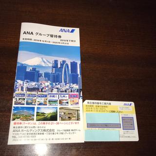エーエヌエー(ゼンニッポンクウユ)(ANA(全日本空輸))のANA 株主優待券 一枚 (航空券)