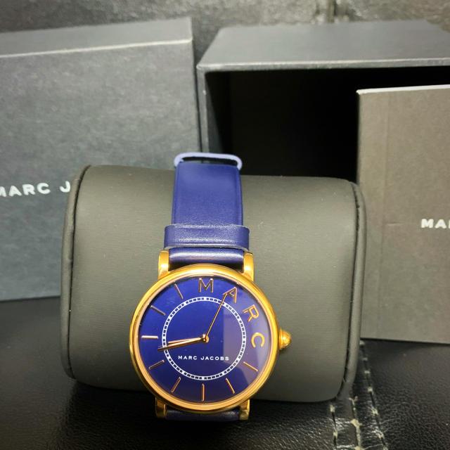 MARC JACOBS - ♡美品MARC JACOBS ROXY MJ1534 クオーツSSレザー腕時計♡の通販