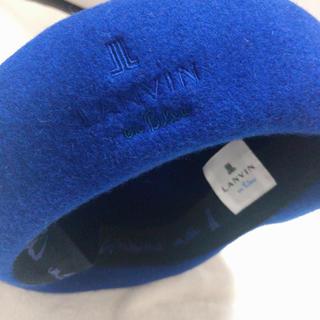 ランバンオンブルー(LANVIN en Bleu)の(ᵔᴥᵔ)様専用⭐︎ 最終値下げ♡LAN VIN帽子(ハンチング/ベレー帽)