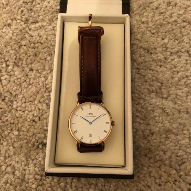 Daniel Wellington - Daniel Wellington ダニエル ウェリントン 腕時計 レザーベルトの通販