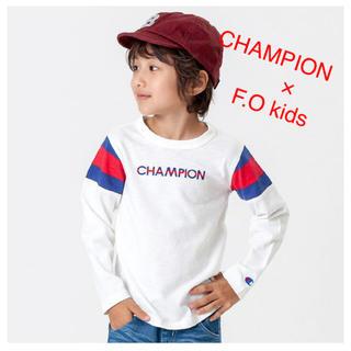 チャンピオン(Champion)のCHAMPION×F.O kids(Tシャツ)