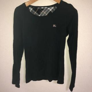バーバリーブルーレーベル(BURBERRY BLUE LABEL)のバーバリーブルーレーベル 長袖Tシャツ(Tシャツ(長袖/七分))