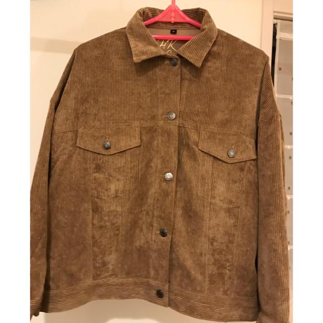 しまむら(シマムラ)のしまむら HKWORKS LONDON コーデュロイ ジャケット LL レディースのジャケット/アウター(テーラードジャケット)の商品写真