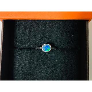 オーストラリア産 ブラックオパール リング(リング(指輪))