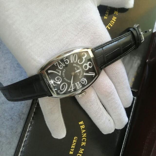 FRANCK MULLER - レザーベルト キラキラ メンズ フランクミュラー 自動腕時計の通販