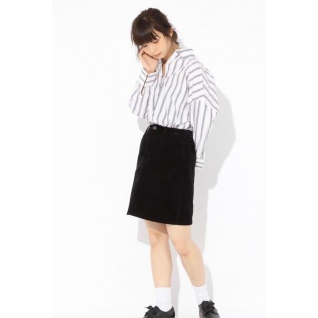 LOWRYS FARM(ローリーズファーム)のコーデュロイミニスカート レディースのスカート(ミニスカート)の商品写真