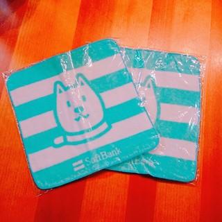 ソフトバンク(Softbank)の☆ソフトバンクお父さんプチタオル☆(キャラクターグッズ)