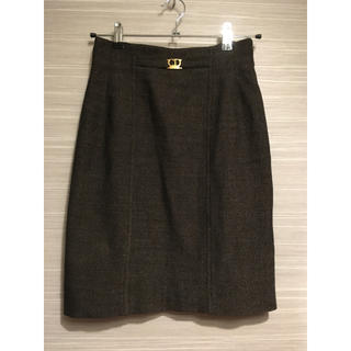 クリスチャンディオール(Christian Dior)のChristian Dior sport 膝丈スカート Mサイズ(ひざ丈スカート)