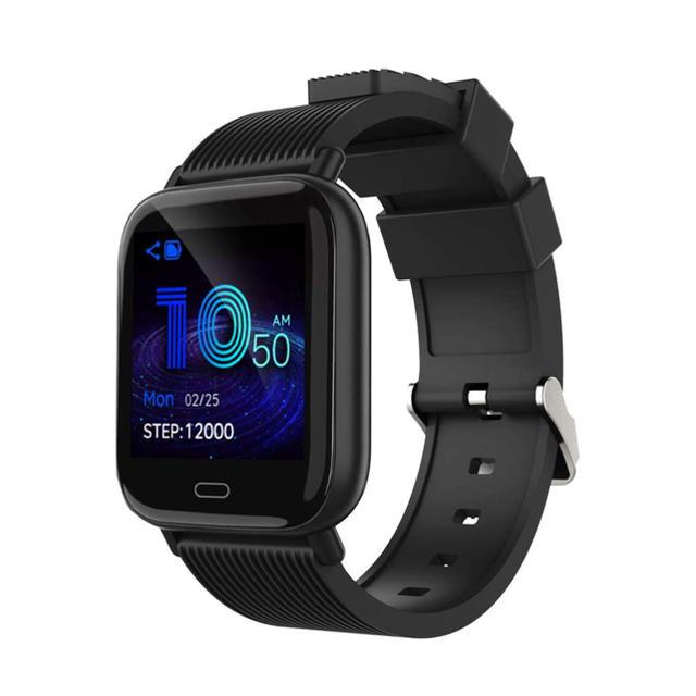 スマートウォッチ 2019最新 血圧計 心拍計 歩数計スマートブレスレット の通販