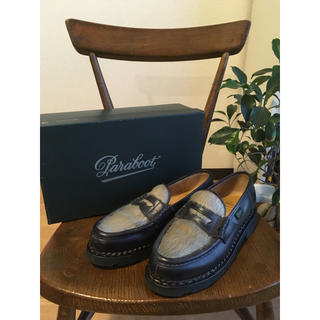 パラブーツ(Paraboot)のE様専用PARABOOT 廃盤 フォック オルセー アザラシ レディース 3.5(ローファー/革靴)