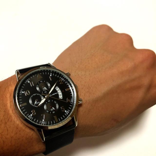CUENA新作 メンズ腕時計 「stainlessベルト」の通販