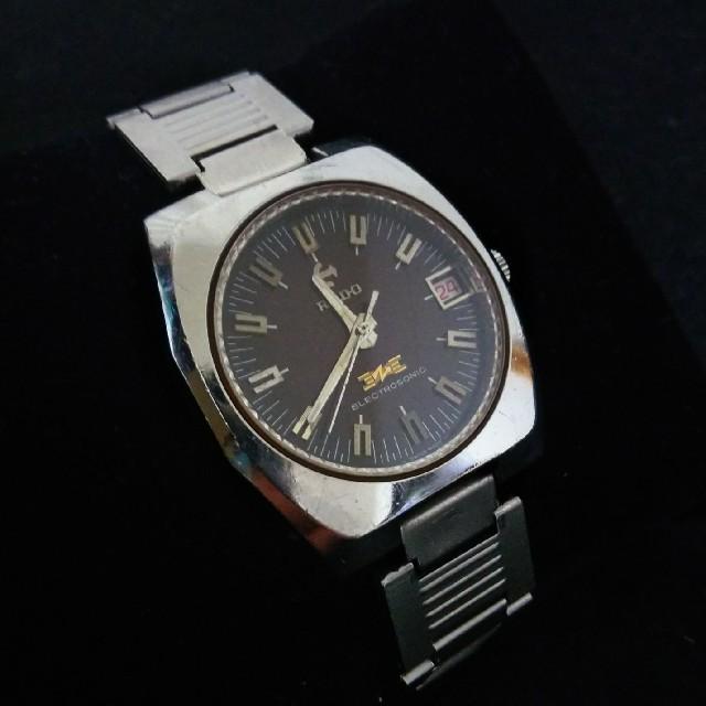 RADO - 70年代 希少 ラドー RADO エレクトロソニック 音叉時計 アンティークの通販