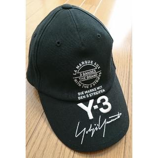 ワイスリー(Y-3)の【美品】Y-3 ワイスリー ヨウジヤマモト STREET CAP ブラック (キャップ)