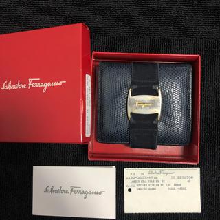 サルヴァトーレフェラガモ(Salvatore Ferragamo)のFerragamo 二つ折り財布(折り財布)